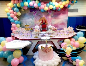 جشن تولد و کندی بار و بادکنک آرایی