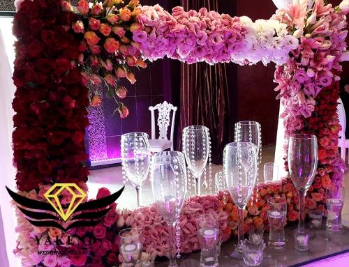 دیزاین و تزئینات جشن عروسی